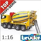 bruder ブルーダー 03554 SCANIA スカニア セメントミキサー 1/16