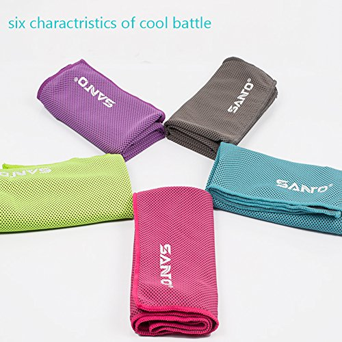 Wingogo Cooling Gym Sweat Towel Special Microfibres Super Absorbant for...