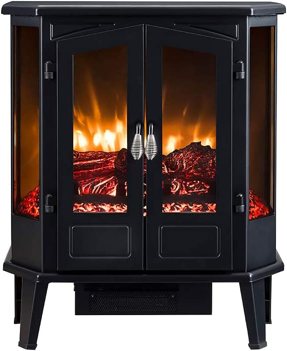 Electric Fireplace Stove HEARTHPRO Infrared Heater