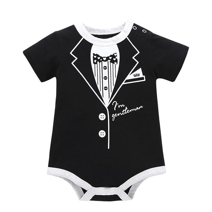 2c0228a6c4fe Amazon.com  Pollyhb Baby Girl Boy Romper