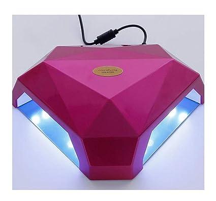 Secadores de uñas Lámpara de Clavo, secador Ultravioleta del Clavo de 60W LED con la