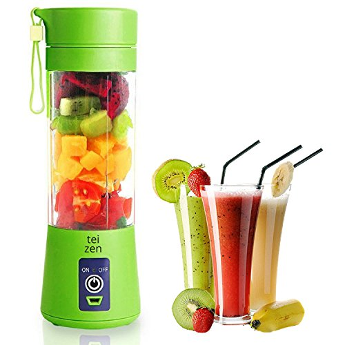 Portable Blender USB Juicer Cup Fruit Mixing Machine, Rechar