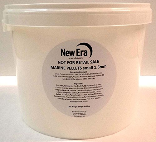 New Era Aquaculture Marine Pellet, 1.8 kg by New Era Aquaculture