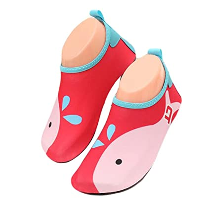 1bfd420c9e8 Amazon.com  PANDA SUPERSTORE Soft Sole Sandals Beach Shoes Kids Barefoot  Shoes Water Shoes Outdoor Indoor  Sports   Outdoors