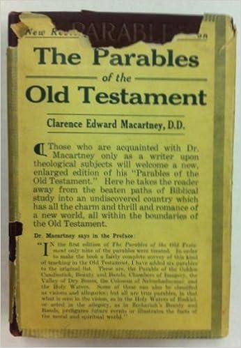 Gratis tekstformat ebøger download The parables of the Old Testament FB2