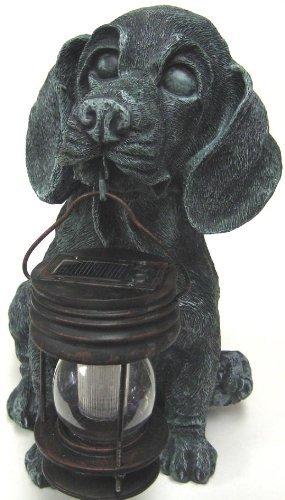 Dog Lantern - GSL SS-GSL-B5007 Generic Dog with Lantern Solar Light