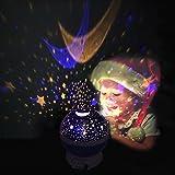 SlowTon 3 Modes Starry LED Night Light Lamp - Pink