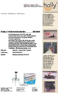 Stabielo–Soporte para sombrilla–de alemán Acero–Césped Dorne–80µ galvanizado–Suelo Spiess nº 50–La Stabielo®–Anillo Diámetro 300mm de diámetro–Fijación con 4suelo pinchos Brochetas para–Longitud 20cm–Sombrilla–Soporte para productos Holly Stabielo®–Mucho utilizar conständer con anillo de suelo para fijación de pantalla Bastones hasta 53mm de diámetro–Innovaciones fabricado en Alemania–Holly de Sunshade®–Disponible también para Stock hasta 25mm de diámetro–Véase ASIN–b00gmj s5nw–Precios So larga Existencias–Productos fabricado en de Baden-Wurtemberg de