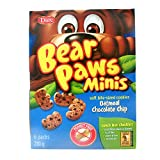 Bear Paws Bear Paw Minis Oatmeal Chocolate Chip (Pack of 12) (Packaging may vary)