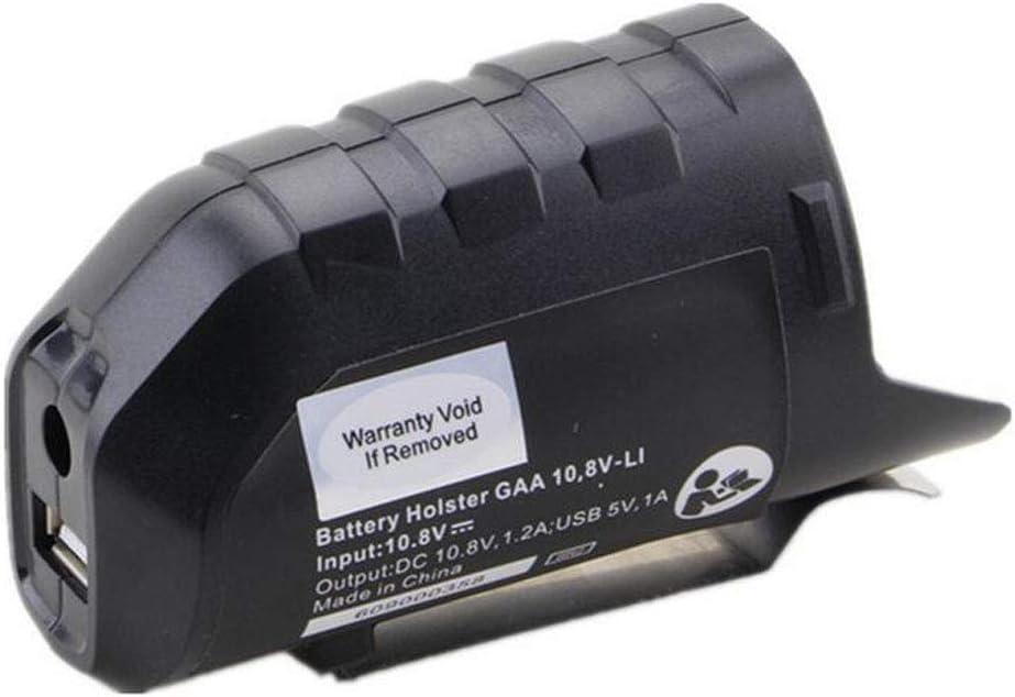 12V Homyl Adaptateur de chargeur USB Pour Li-ion BOSCH BHB120 10.8V