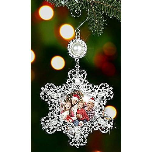 christmas photo ornaments - Amazon Christmas Ornaments