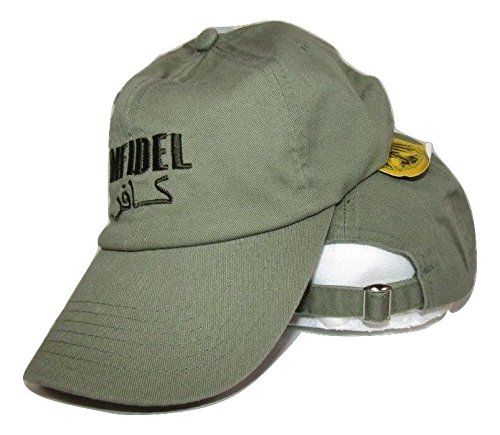 수 놓은 빛 녹색 Infidel 군대 야구 모자 모자 (RUF)/Embroider..