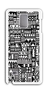 Cute Cartoon Back Cover case for samsung galaxy note 4 - Aztec color strokes