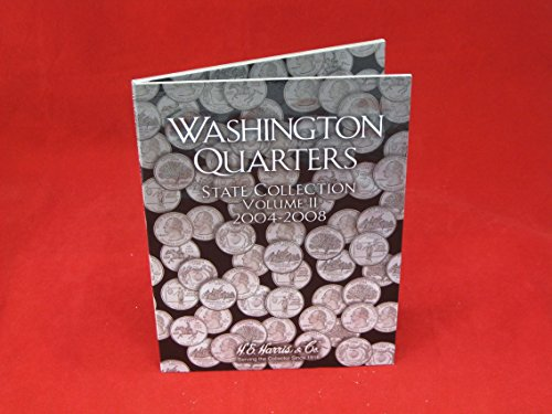 Harris Coin Folder – State Series Quarters Folders Vol II 2004-2008 #8HRS2581