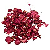 SODIAL(R) 1 Bag of Dried Rose Petals Flowers Natural Wedding Table Confetti Pot