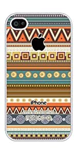 linJUN FENGiZERCASE Aztec Pattern iphone 4 case - Fits iphone 4 & iphone 4s