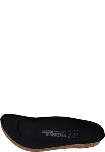 44c884826a42 Birkenstock Replacement Footbed Black Black: Amazon.co.uk: Shoes & Bags