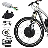 "Best Electric Bicycle Conversion Kits - Voilamart 26"" 36V 500W Front Wheel Electric Bicycle Review"