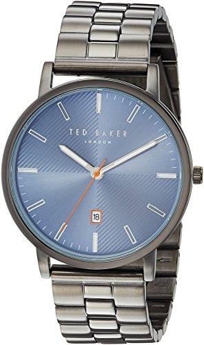 Ted Baker Men's 'DEAN' Quartz Stainless Steel Casual Watch, Color:Silver-Toned (Model: TE50012004)