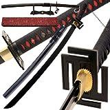 Ichigo Tensa Bleach 1060 Carbon Steel Handmade Bankai Katana Sword