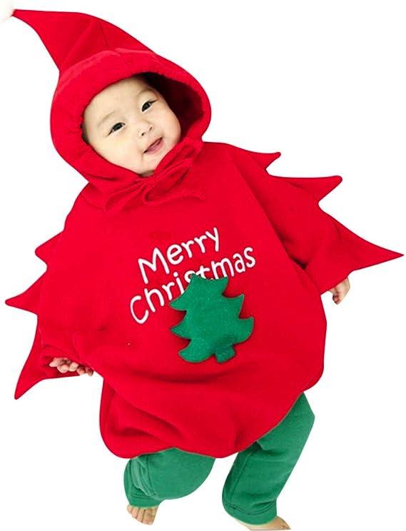Disfraz Navidad Bebe Niña Niño Arbol de Navidad Sudadera con ...
