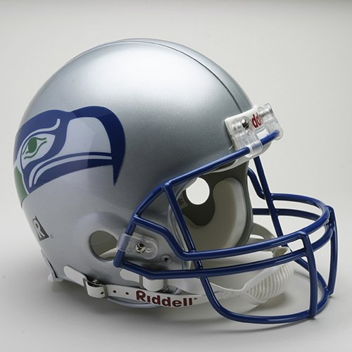 Riddell Seattle Seahawks 1983-2001 Authentic Throwback Helmet - Seattle Seahawks One Size by Riddell