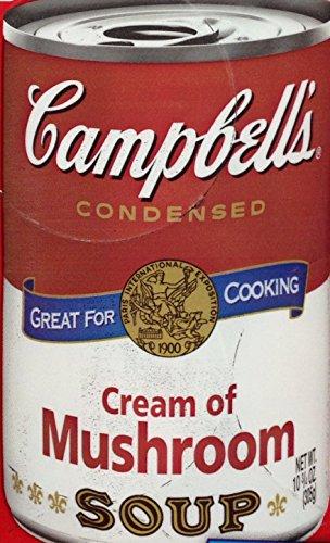 Cream of Mushroom Soup 12/10.75 Oz. - Plain Cream Soup