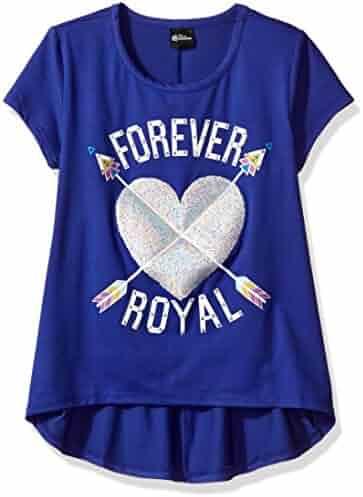 Disney D-Signed Big Girls' Descendants Hi Lo Graphic T-Shirt