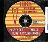 1965 Pontiac CD-ROM Body, A/C & Repair Shop Manuals