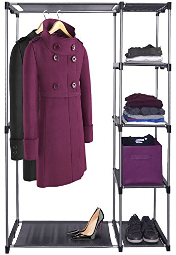 Sorbus® Wardrobe Closet Portable Free Standing Storage Organizer – Portable, Detachable, and Lightweight Clothing Closet