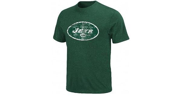 a1b559e6 Amazon.com : adidas New York Jets Vintage Logo 3 Short Sleeve T ...