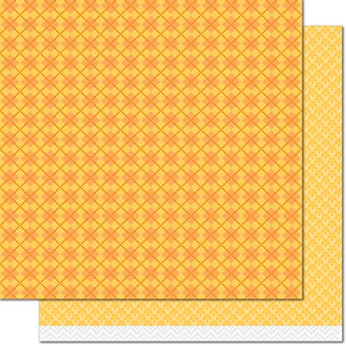 - Lawn Fawn LF1727 Cozy Cardigan 12x12 Patterned Paper - 12 Pack