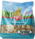 Kaytee Forti Diet Pro Health Bird Food for Cockatiel, 5-Pound