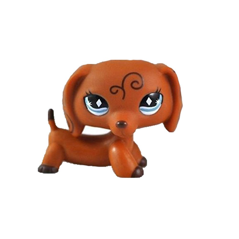 Store Big Gift Shop Pet Shop Dachshund Dog Collection Child Girl Boy Figure Toy Loose Cute by New Brand for boy Girl crossed3_Pet toy store