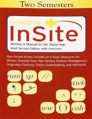 Enhanced InSite, 2 terms (12 months) Printed Access Card for Blakesley/Hoogeveen's Writing: A Manual for the DigitalAge