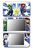 New Super Mario Bros Luigi Star Power Video Game Vinyl Decal Skin Sticker Cover for Original Nintendo 3DS XL System