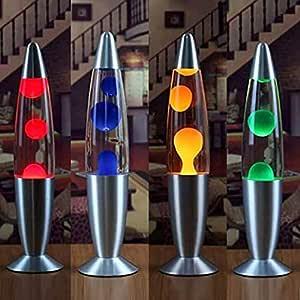 Lav Lambası Büyük 40 CM - Lava Lamp Gece Lambası
