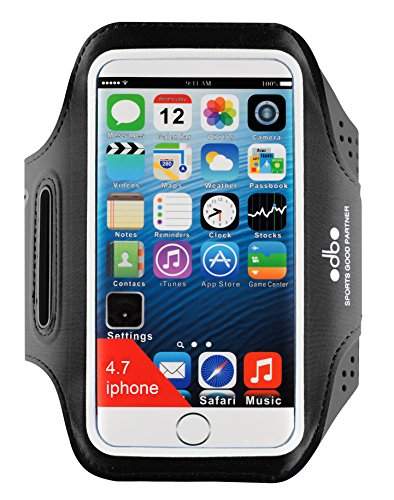 """[해외]odbo 아이폰 5, 5s, 5c, 6, 6s, 7, 아이팟, 5.1 """"화면 크기에서 스마트 폰에 대 한 키 홀더와 함께 범용 내성 실행 스포츠 완장/odbo Universal Water Resistant Running Sport Armband with Key Holder for iphone 5, 5s, 5c, 6, 6s, 7, ipod,..."""