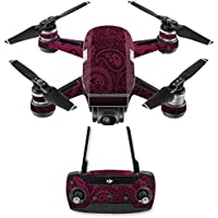 Skin for DJI Spark Mini Drone Combo - Paisley| MightySkins Protective, Durable, and Unique Vinyl Decal wrap cover | Easy To Apply, Remove, and Change Styles | Made in the USA