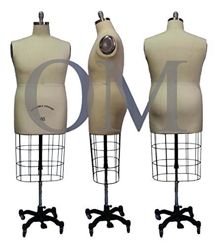 Male Professional Fashion Dressmaker Dress Form Mannequin...