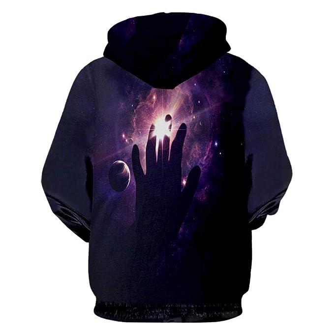 Nubula Star Hombres Sudaderas 3D Sudaderas Boy Chaquetas Jersey De Calidad CháNdales De Moda Streetwear out Coat Plus Size: Amazon.es: Ropa y accesorios