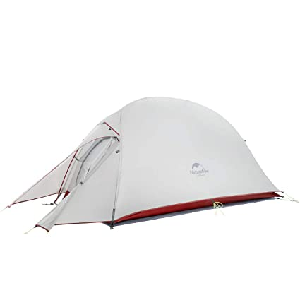Naturehike Cloud-Up 1 Person Lightweight Backpacking Tent with Footprint - 4 Season Free Standing  sc 1 st  Amazon.com & Amazon.com : Naturehike Cloud-Up 1 Person Lightweight Backpacking ...