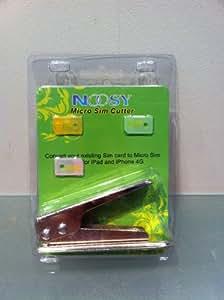 Noosy Micro Sim Card Cutter + 2x MicroSim Adapter For iPhone 4 & iPad