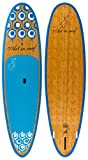 Art in Surf Da Big Fun Paddle Board, 10'6'' x 33'' x 5''/190 L, Blue