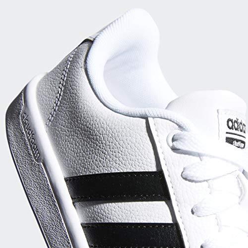 adidas Womens Shoes   Cloudfoam Advantage Cl Sneakers, Black/White, (8.5 M US)