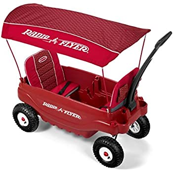 Amazon Com Radio Flyer Deluxe All Terrain Family Wagon