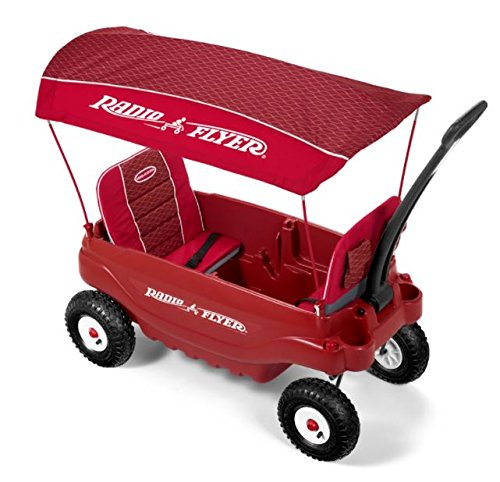 Radio Flyer Personalized Plastic Wagon - Wave (Flyer Plastic Storage Radio)