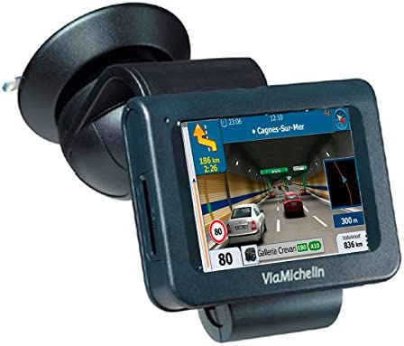 Navegador GPS con Avisador de Radares Actualizable Chip Sirf ...