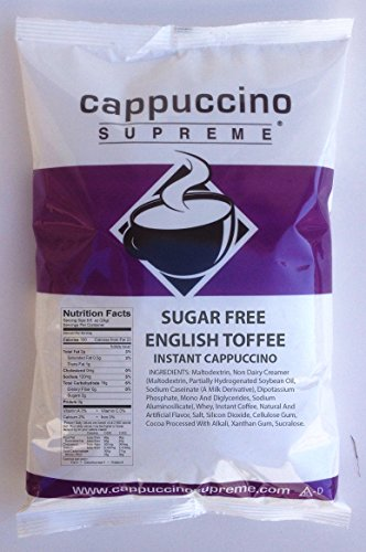 Sugar Free English Toffee Instant Cappuccino Mix ()