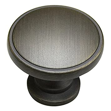 Genial Style Selections Oil Rubbed Bronze Round Cabinet Knob